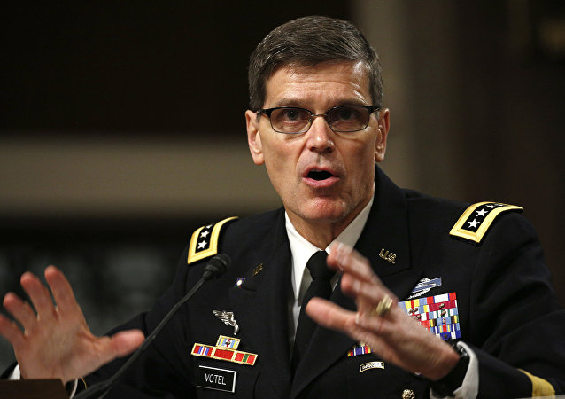 General Joseph Votel, chefe do Comando Central dos EUA