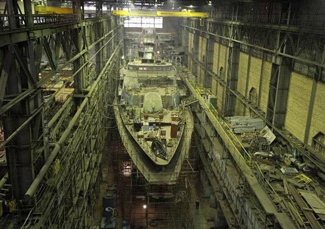 A corveta russa Gremyashchy projeto 20385