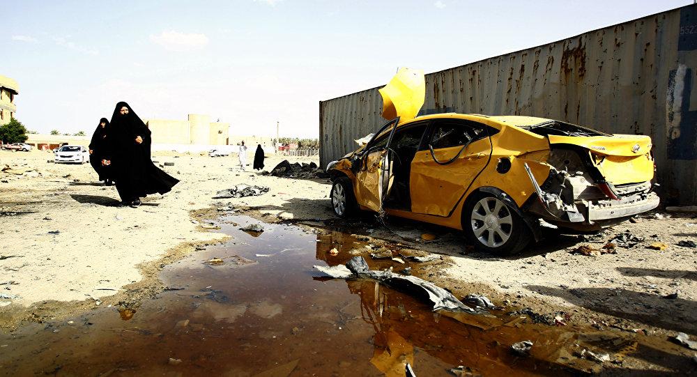 Samawah, no Iraque