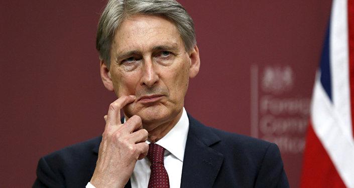 Philip Hammond, chanceler do Tesouro britânico