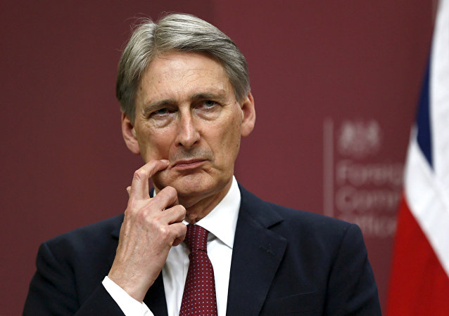 Philip Hammond, chanceler do Tesouro britânico
