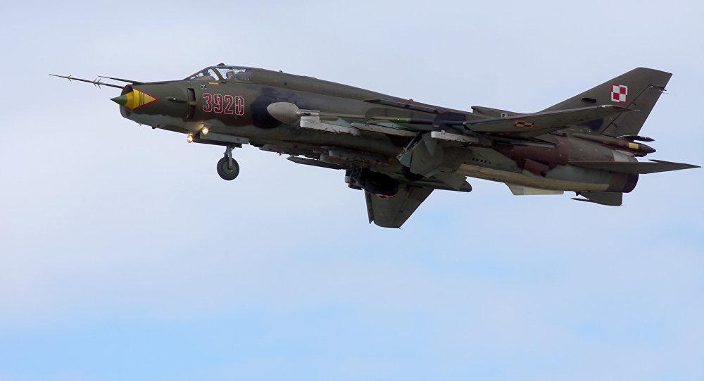 Caças poloneses Su-22