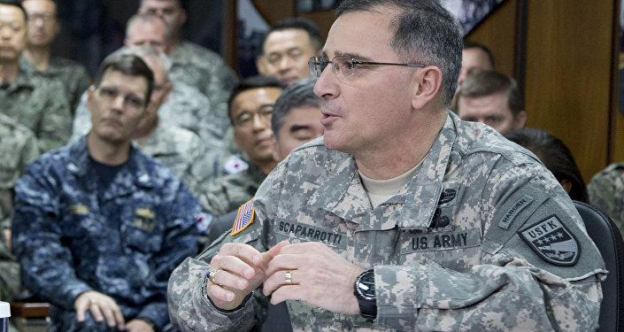 comandante da OTAN Curtis Scaparotti