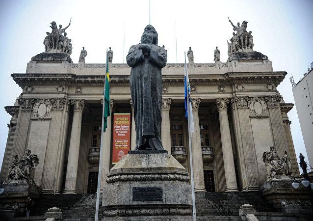 O Palácio Tiradentes, no Rio de Janeiro, completa 90 anos