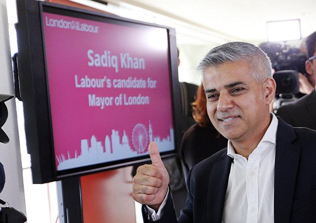 Novo prefeito de Londre, Sadiq Khan