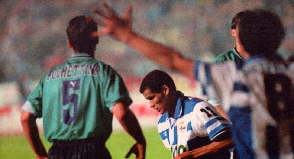 Rivaldo Ferreira, um ex-futebolista brasileiro