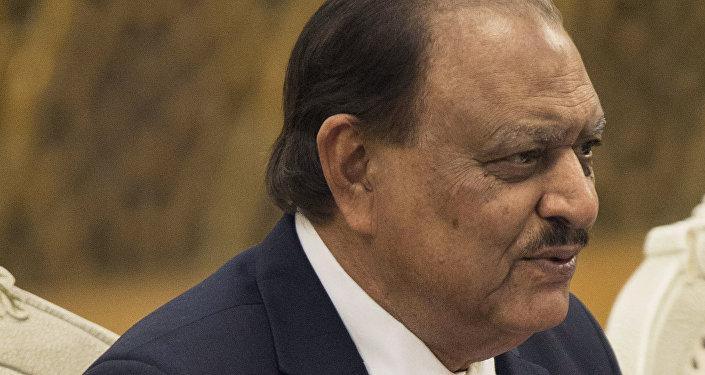 Mamnoon Hussain, presidente do Paquistão, em 2014