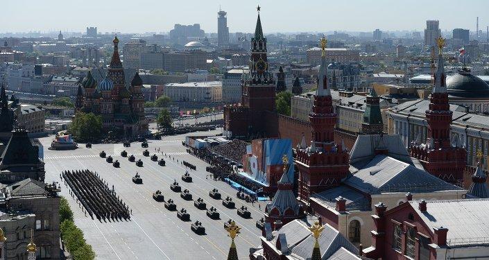 Desfile militar do Dia da Vitória em 2014