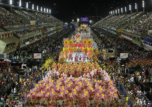 Carnaval 2015 no Sambódromo do Rio