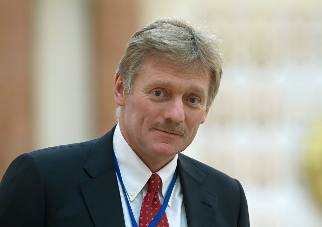 O porta-voz do presidente russo, Dmitry Peskov