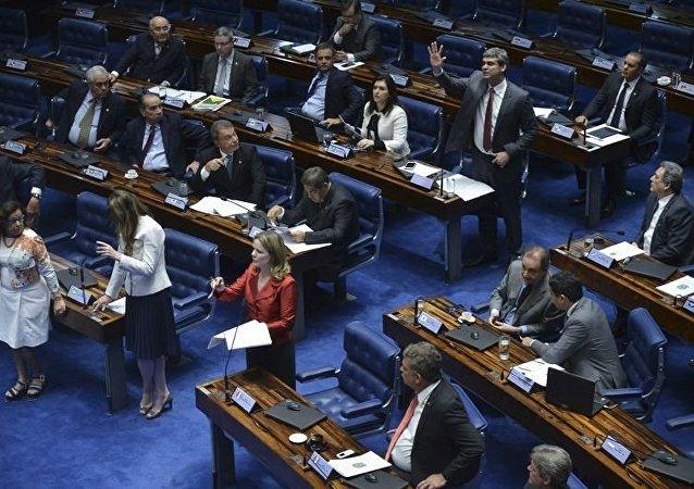 Senado julga processo de impeachment de Dilma