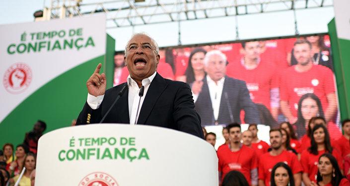 António Costa, o atual secretário-geral do Partido Socialista