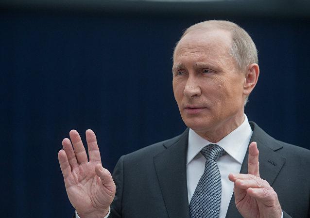 Presidente da Rússia Vladimir Putin