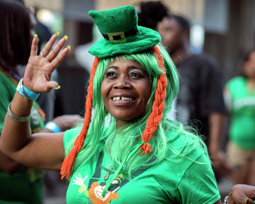 Celebrações do Dia de São Patrício em Savannah, EUA