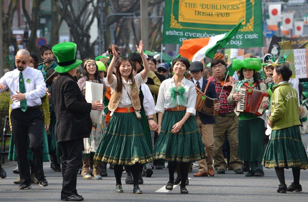 Mais de 1.000 pessoas participaram de um desfile em Tóquio, Japão
