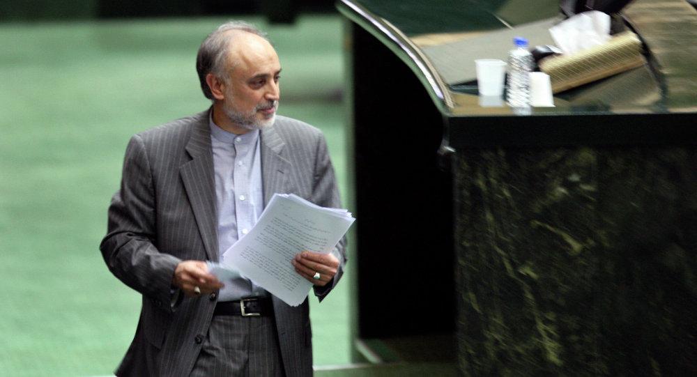 Ali Akbar Salehim chefe da Organização para Energia Atômica do Irã
