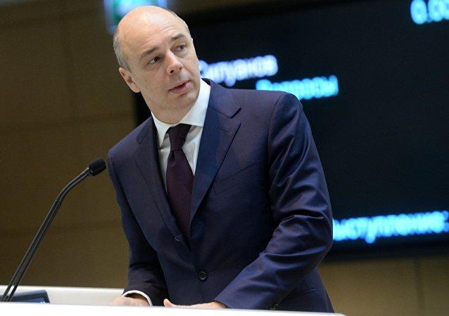 Anton Siluanov, ministro de Finanças da Rússia