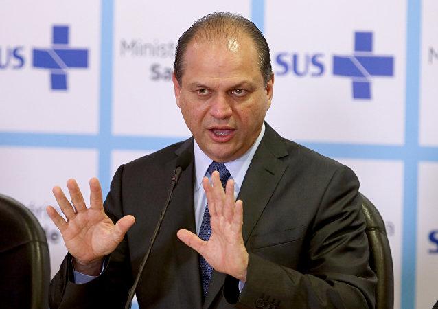 Ricardo Barros, ministro interino da Saúde