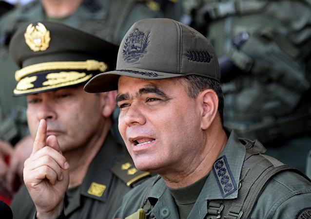 Vladimir Padrino, ministro da Defesa da Venezuela