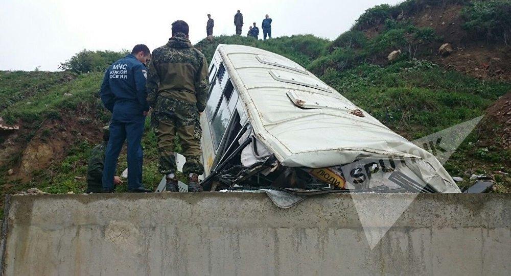 Acidente na Ossétia do Sul