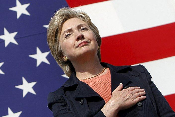 Hillary Clinton, ex-secretária de Estado e favorita do Partido Democrata na corrida presidencial
