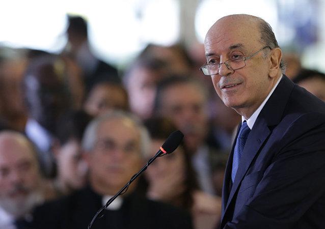 José Serra, ministro das Relações Exteriores do governo interino de Michel Temer