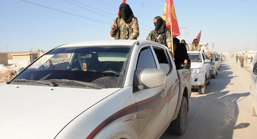 Forças Democraticas da Síria