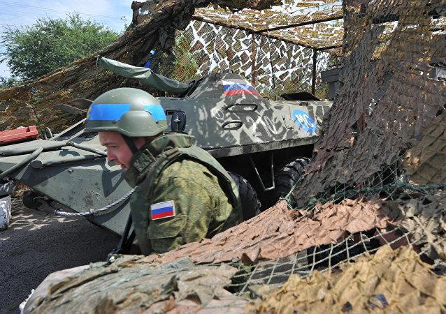 Contingente de paz russo na Transnístria