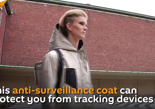 Este casaco pode proteger o seu dono da vigilância