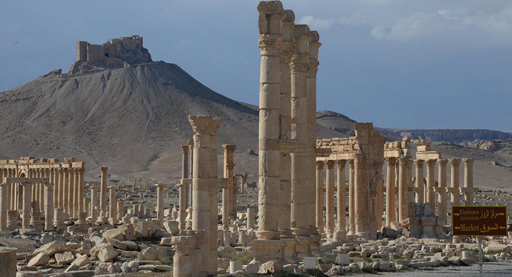 Cidade antiga de Palmira (Síria)