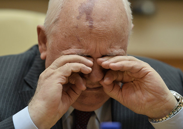 Ex-presidente da União Soviética, Mikhail Gorbachev