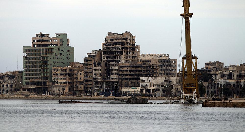 Cidade de Bengazi, na Líbia
