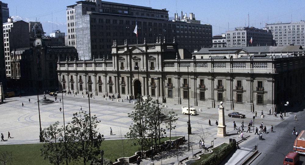 Palácio de La Moneda, em Santiago, Chile (arquivo)