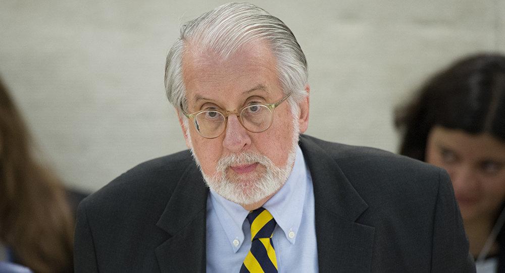 Diplomata Paulo Sérgio Pinheiro, Coordenador da Comissão Internacional de Inquérito para a Síria