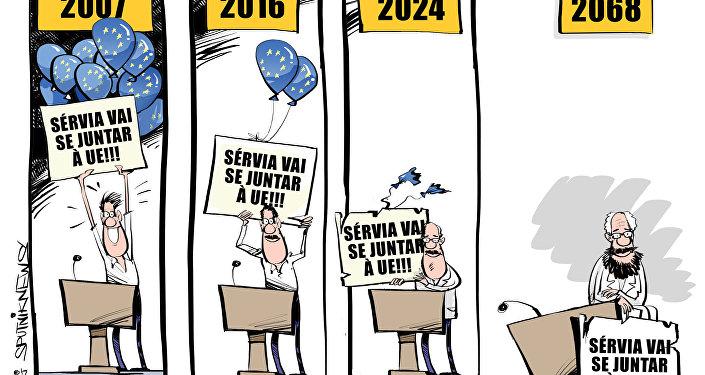 CHARGE - Sérvia vai se juntar à UE!