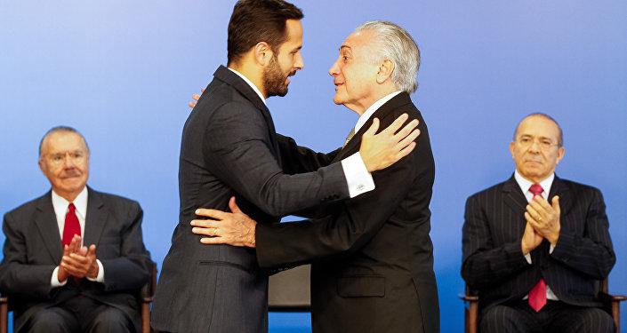 Cerimônia de Posse de Marcelo Calero como Ministro da Cultura