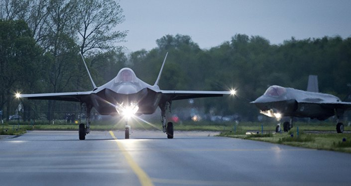 Lockheed Martin F-35 Lightning II Fighter