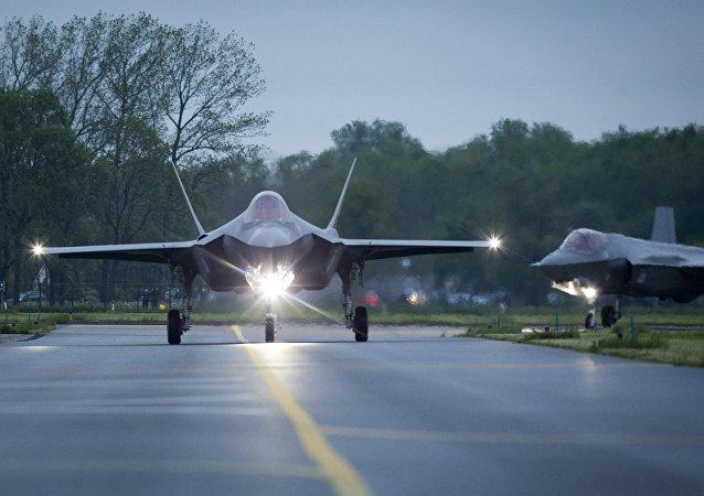 Caça F-35 Lightning II da Lockheed Martin