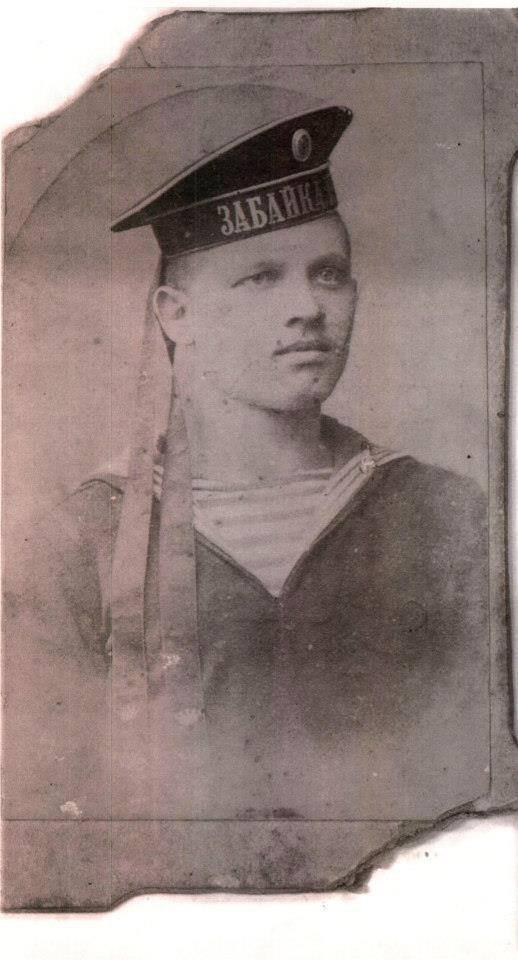 Retrato de Pedro Epichin, marinheiro russo