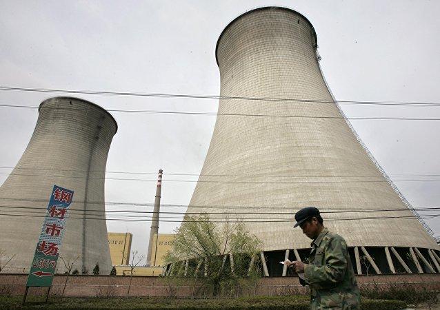 Usina nuclear na China