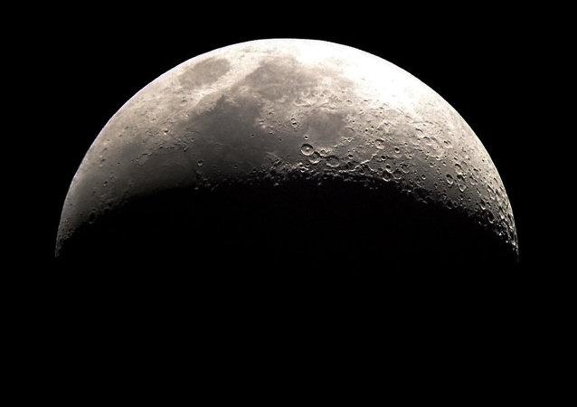Imagem da Lua tirada do espaço
