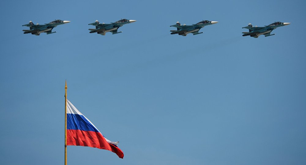 Caças russos Su-34