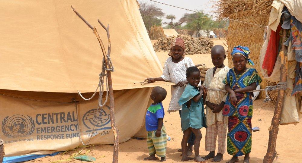 Campo de refugiados em Mainé-Soroa, no Níger