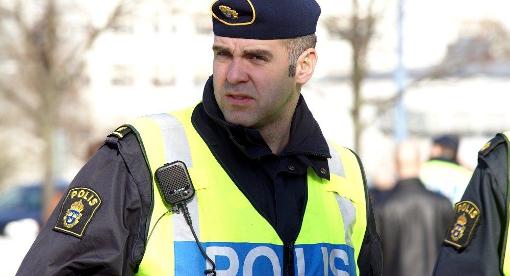 Polícia de Gotemburgo na Suécia