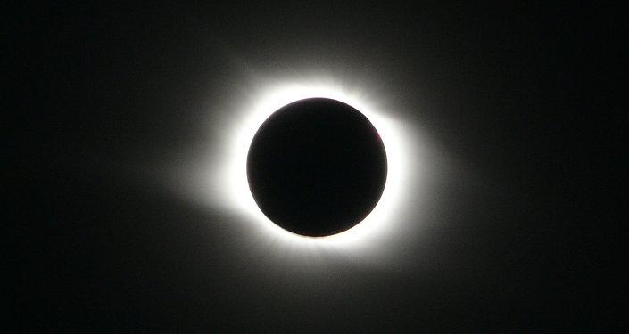Eclipse solar em 1 agosto 2008