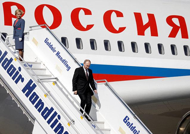 Putin in Athen eingetroffen