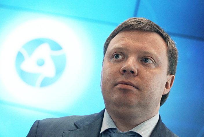 O vice-diretor da estatal Rosatom, Kirill Komarov