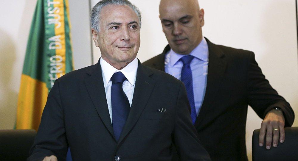 Michel Temer e ministro da Justiça, Alexandre de Moraes, se reúnem com secretários de Segurança Pública de todos os estados do país.