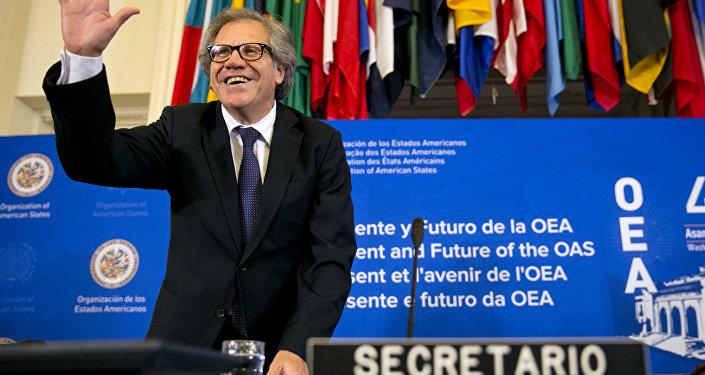 Luis Almagro, secretário-geral da OEA