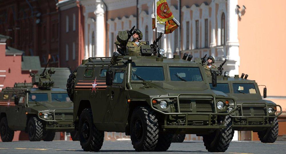 Veículo de todo o terreno da infantaria, Tigr (foto de arquivo)